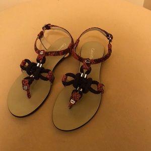 CALVIN KLEIN women's SARRA sandal NWOT